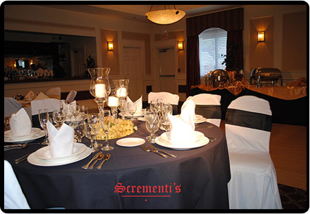 Scrementi's offers banquet facilities for Chicago south suburbs, northwest Indiana and surrounding areas.